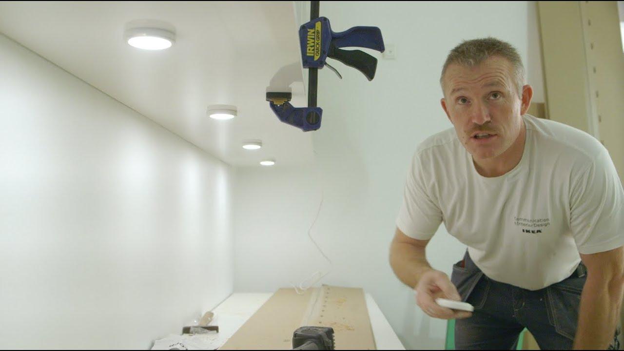 Af modish Håndværkertips - god belysning med skjulte ledninger - YouTube GC74