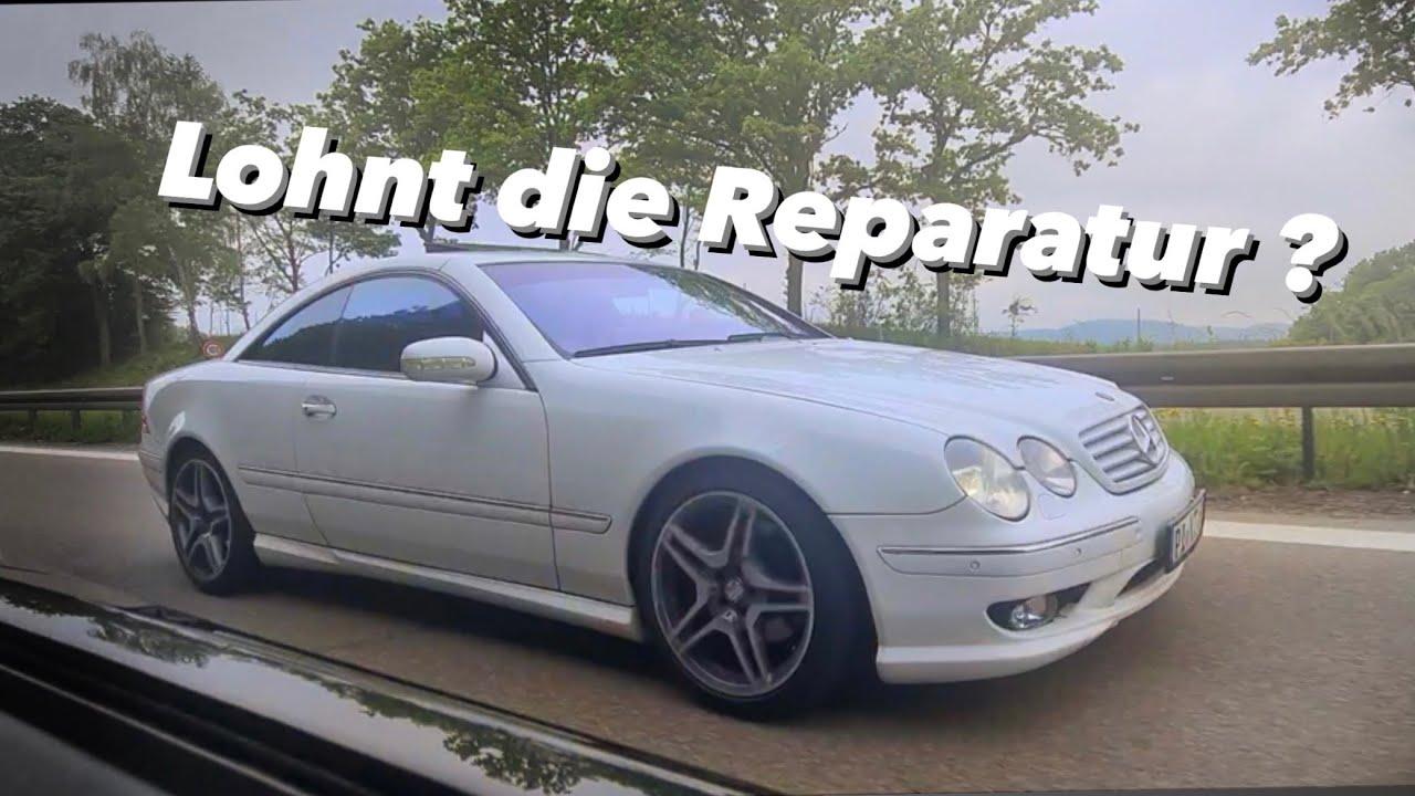 der CL wurde in italien zurück gelassen (+Sportwagen gekauft)