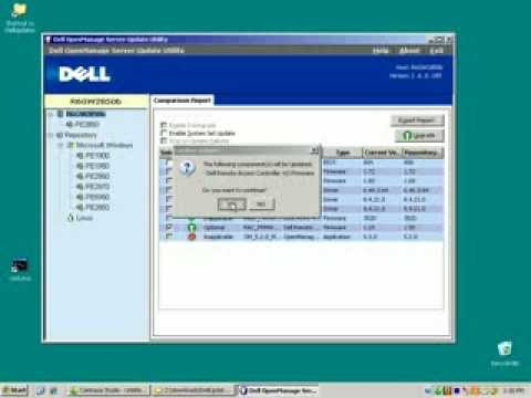 Dell OpenMange 5 3 Content Manager and Server Update Utility flv