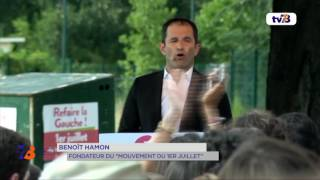 Politique : l'ancien député Yvelinois Benoit Hamon lance un nouveau mouvement