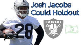 Josh Jacobs to Holdout Over Contract Issues