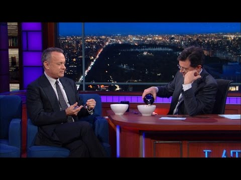 Tom Hanks Tries Baileys and Lucky Charms