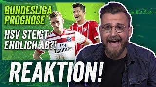 Reaktion: Bundesliga Prognose vor der Saison 2017/18 - FC Bayern, RB Leipzig, HSV