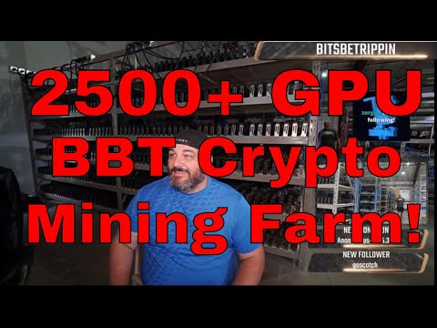 2500 GPUs Cryptocurrency Mining Farm - Welcome to the BBT Farm!