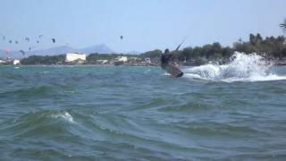 10a Sergio aqui mejor con la Speed 5 15 mts mallorca kitesurfing