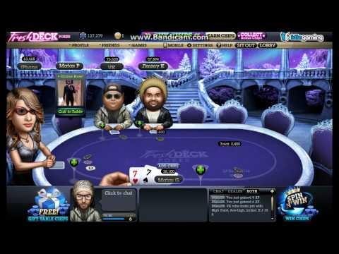 Playing Fresh Deck Poker Series