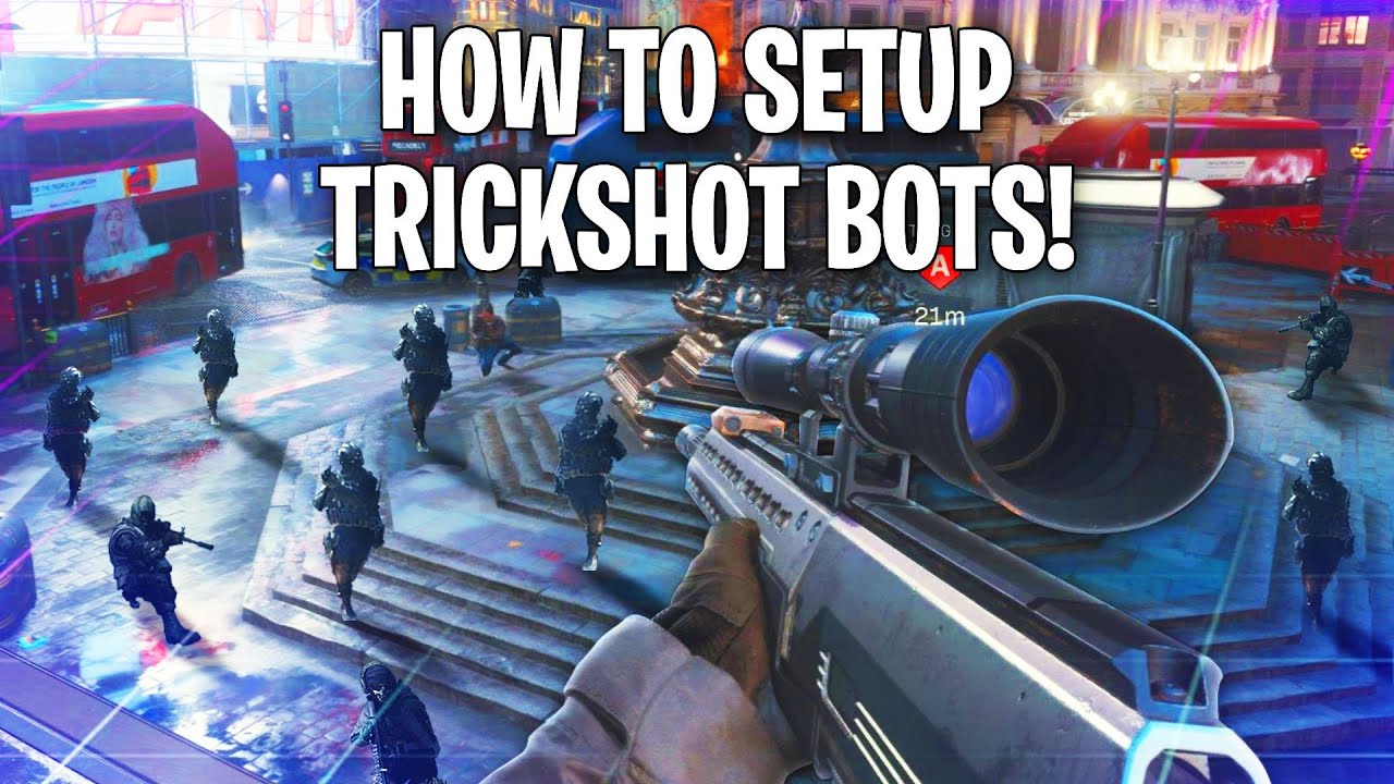 How To Set Up Bots To Trickshot On Modern Warfare 3 Different Ways Youtube