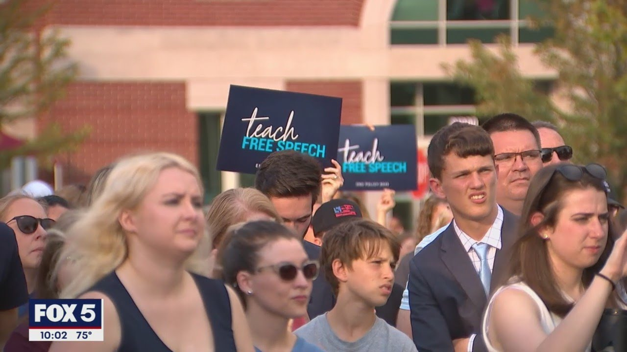 Dozens gather at Loudoun County school board meeting to protest transgender policy   FOX 5 DC