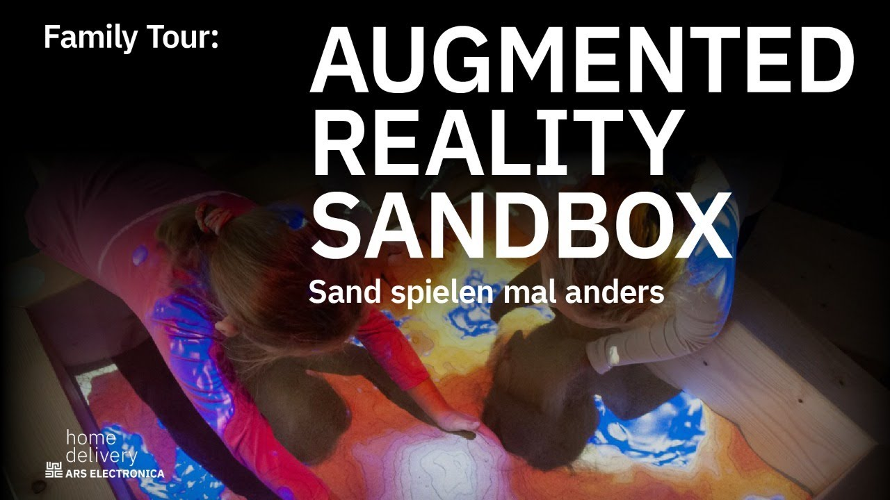 Augmented Reality Sandbox – Sand spielen mal anders