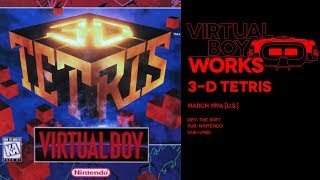 3-D Tetris retrospective: Red rain | Virtual Boy Works #13