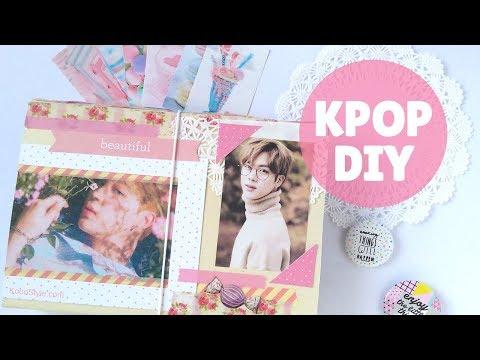 【K-POP DIY】 Easy File Organizer Tutorial ♥! (Eng/Esp)