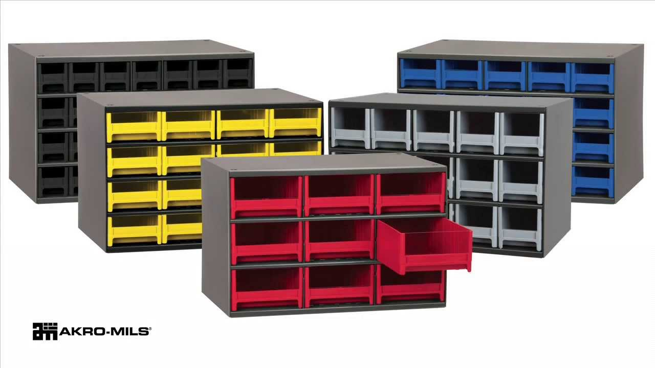 Akro Mils Steel Storage Cabinets Youtube