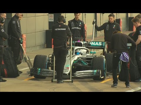 EXCLUSIVE! FIRST DRIVE OF MERCEDES 2019 F1 CAR!