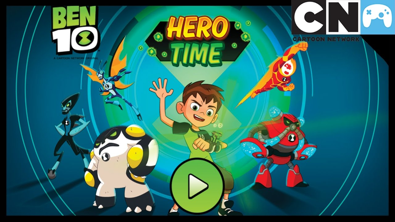 Ben 10 Games Hero Time App Gameplay Cartoon Network Games