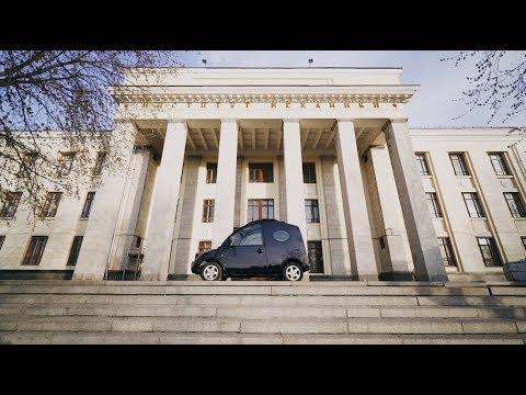 Улиткамобиль - Nissan S-Cargo.