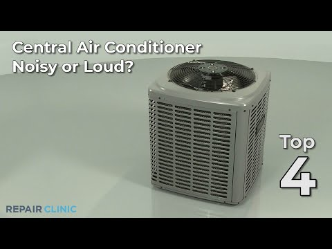 Central Air Conditioner Noisy? Central Air Conditioner Troubleshooting