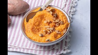 How To Make Whipped Sweet Potatoes With Coconut - Thanksgiving Recipes - Weelicious