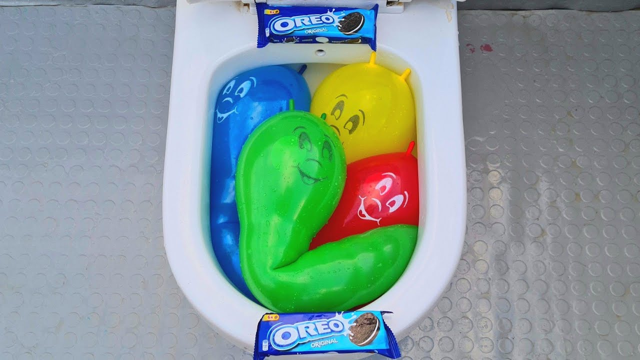 will it flush?- water balloons new experience tests