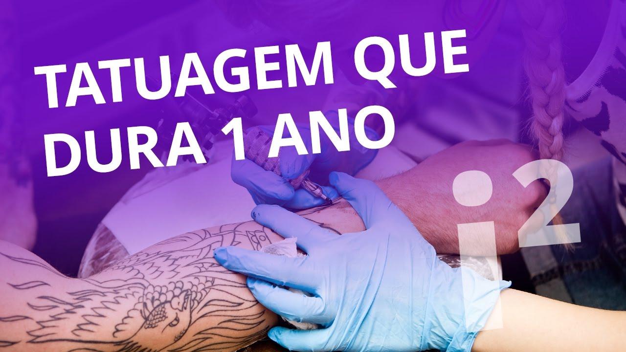 Para Os Indecisos Tatuagem Que Dura Por Um Ano Inovação ²