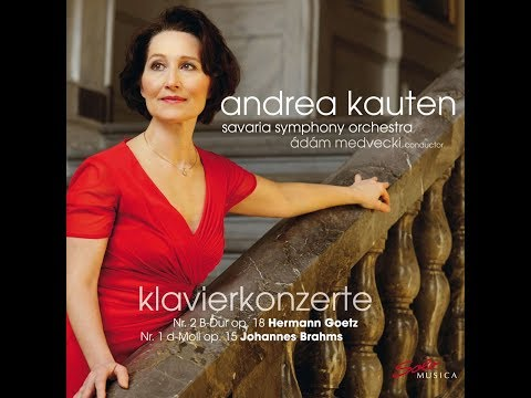 Official EPK Video Andrea Kauten - Piano concertos by Hermann Goetz & Johannes Brahms