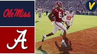 Ole Miss vs #2 Alabama | Week 5 | College Football Highlights | 2019