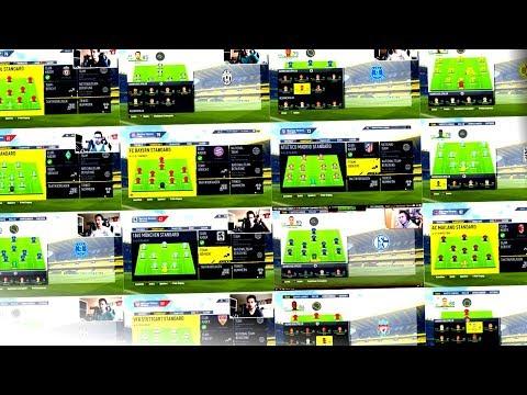 ALLE MEINE HEFTIGSTEN KARRIEREN IN EINEM VIDEO !!! 🏆💪😍 FIFA 17 Karrieremodus Showcase