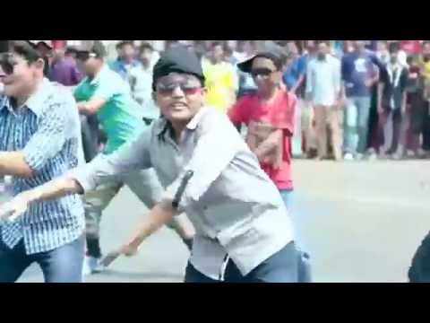 Chittagong Collegiate School Flash MOB ICC T20 Bangladesh 2014