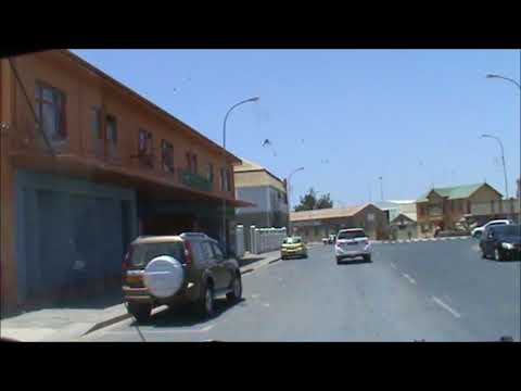 Luderitz   Driving through the streets 2017 12 20