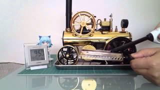 ドイツ製 蒸気エンジン模型車(Wilesco D430)Made in Germany  Steamy engine model car