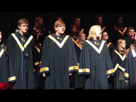 Kiski Area High School Choir - 12/2/15