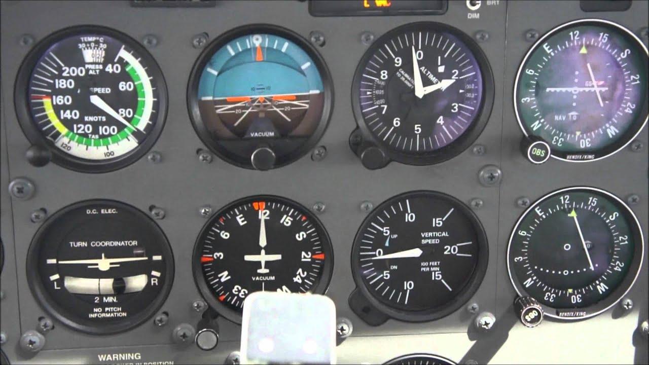 C172 cessna rese a de la aeronave cai c172s youtube - Tablero escritorio ...