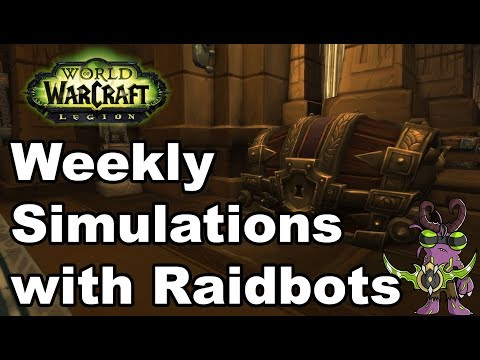 Reset Day Sims for Raiders with Raidbots 2.0