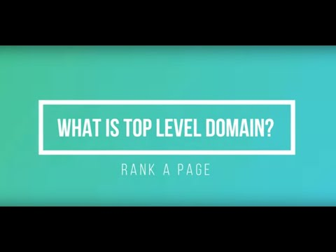 What Is Top Level Domain?