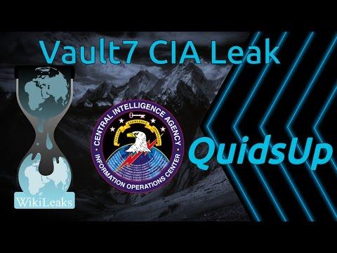 WikiLeaks Vault7 CIA Leak