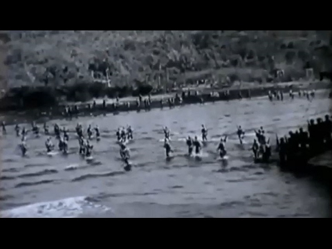 US Army 38th Division Soldiers Land at Mariveles Philippine Islands WW2 Footage Feb 15 1945