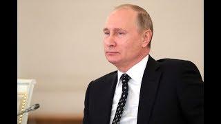 Встреча Владимира Путина с руководством Федерального Собрания РФ. Полное видео