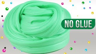 NO GLUE WATER FLUFFY SLIME!,Easy No Facemask,No ShavingFoam,No Cornstarch,Slime Recipe,Slime Masters