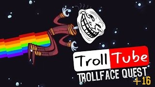 YOUTUBE TROLL | TROLLFACE QUEST