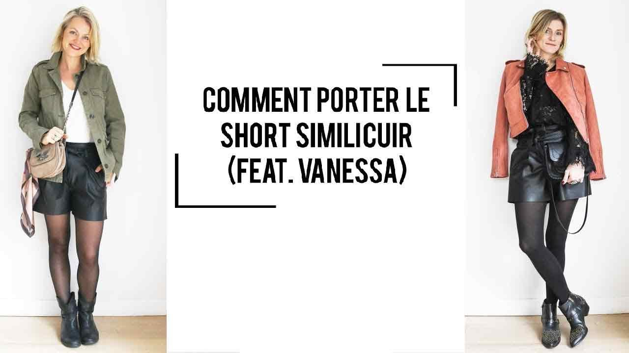 Comment porter le short simili cuir ? (Feat.