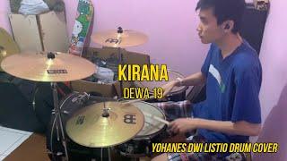 Kirana - Dewa 19 (Yohanes Dwi Listio Drum Cover)