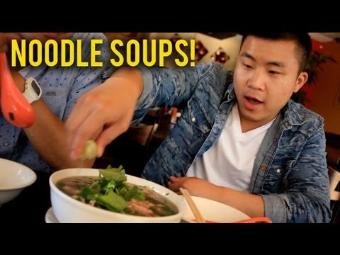 THE BEST ASIAN NOODLE SOUPS IN THE WORLD!