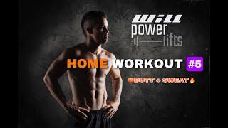 Butt & Legs workout (follow along)