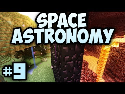 Minecraft- Space Astronomy [9] THE QUEST FOR COBALT