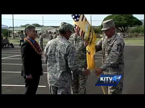 Hawaii National Guard passes flag to new authority