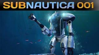 Subnautica [001] [PRAWN UPDATE] [Let's Play Gameplay Deutsch German] thumbnail