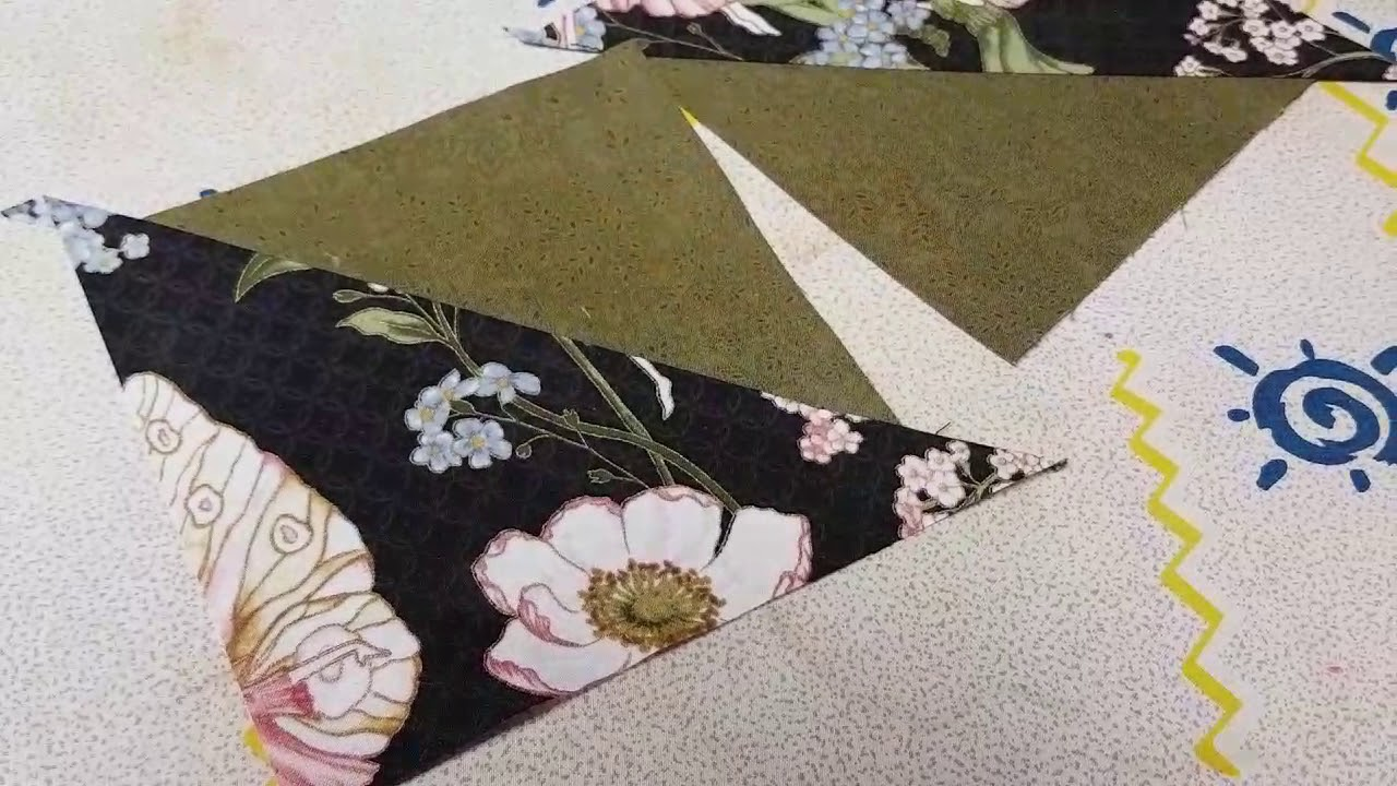 Eleanor Burns Quilt In A Day Flying Geese Ruler Youtube