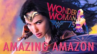 AMAZING AMAZON | Wonder Woman Film Score Theme Medley ~ Batman v Superman Wonder Woman OST