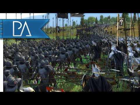 EPIC PIKE BATTLE - Third Age Total War Gameplay