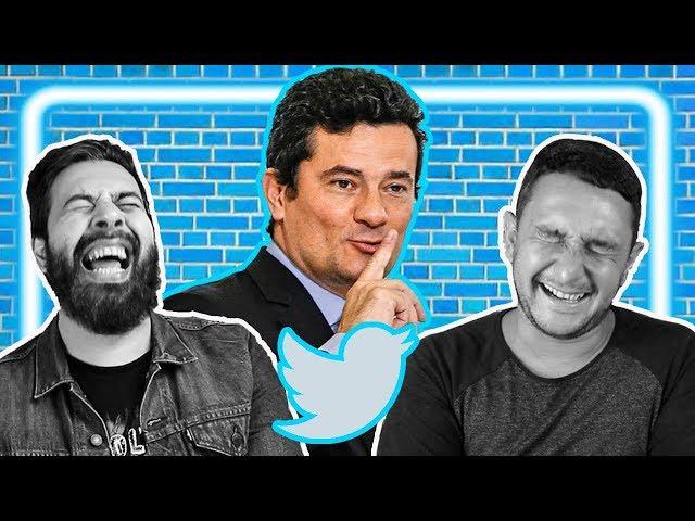 Reagindo ao Twitter do Moro, o maior palhaço do governo | Galãs Feios