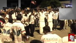 ADMK MLA Dances In a Poll Campaign At Srirangam